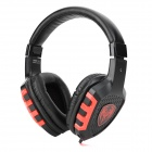Somic G929 3.5mm Wired Stereo Gaming Headphones w/ Microphone - Black + Red