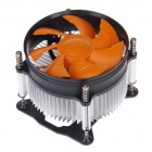 Tianjifeng Tissot Professional CPU Heatsink with Cooling Fan - Orange + Black