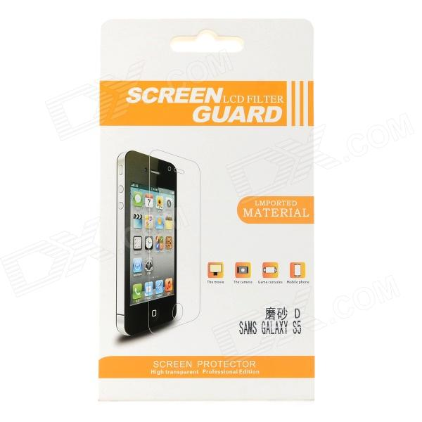 Protective PVC Matte Screen Guard Film for Samsung Galaxy S5