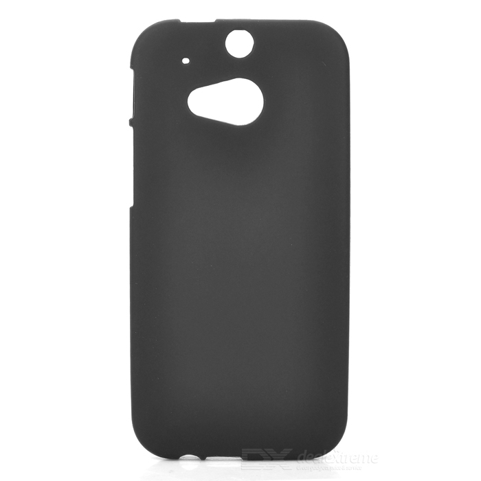Simple Plain Protective TPU Back Case for HTC ONE 2 (M8) - Black