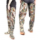 Jiangtaigong x6507 Outdoor Multifunctional Fishing Water Pants - Army Green Camouflage (2 PCS)