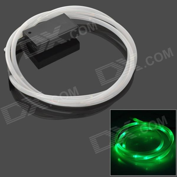 TH-2013 decorativo flexível verde LED Light Strip para bicicleta - verde