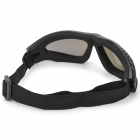 SW2089 Tactical Windproof Eye-Protection Goggles - Black + Green