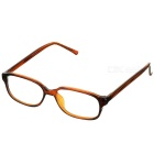PVC Frame Resin Lens Reading Glasses with Hard Protective Case (+1.00D)