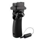 Flash Hot Shoe Mount Adapter Trigger Umbrella Holder Swivel Light Stand Bracket - Black