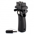 Flash Hot Shoe Mount Adapter Trigger ombrello girevole leggero Stand staffa supporto - nero