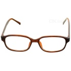 PVC Frame Resin Lens Reading Glasses with Hard Protective Case (+1.50D)