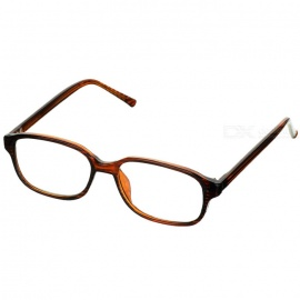 PVC Frame Resin Lens Reading Glasses with Hard Protective Case (+3.00D)