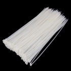 YDS-300M 5 x 300mm Self-Locking Nylon Cable Tie Wraps - White ( 250 PCS)