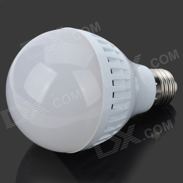 E27 9W 760LM 6000K 30-SMD 2835 LED White Light Bulb (AC 85~265V) e27 9w 760lm 6000k 30 smd 2835 led white light bulb ac 85 265v
