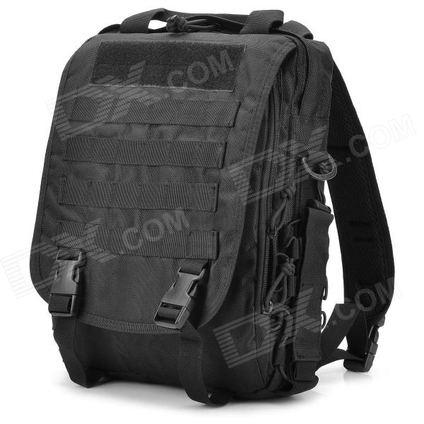 SW3088 Multifunction 600D Oxford Nylon Backpack Bag - Black (30L) new arrival 38l military tactical backpack 500d molle rucksacks outdoor sport camping trekking bag backpacks cl5 0070