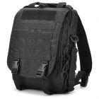 SW3088 Multifunction 600D Oxford Nylon Backpack Bag - Black (30L)