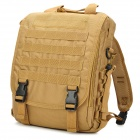 SW3068 Multifunction Tactical 600D Oxford Nylon Backpack Bag - Khaki + Black (30L)