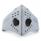 JcSp n-626 Four Seasons Outdoor Sports Cycling Activated Carbon Face Mask - Grey (Size L)