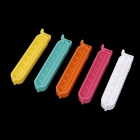 Fashion Food Sealed Clip Plastic Bags Sealed Clip - Multicolored (5 PCS)