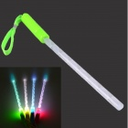RF-GL3G LED Hand Light Stick Flash Stick - Green + White (4 x AG3)