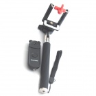 Monopod and Wireless Shutter Controller w/ Phone Clip - Black