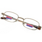 Alloy Frame Reading Glasses with Hard Protective Case (+1.50D)