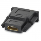 DVI-I 24+1Pin Male to HDMI Female Adapter - Black