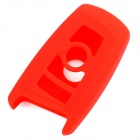 GEL020906 Silicone Car Key Case for BMW X1 / X3 / X5 / X6 / 3 / 5 / 7 Series - Red