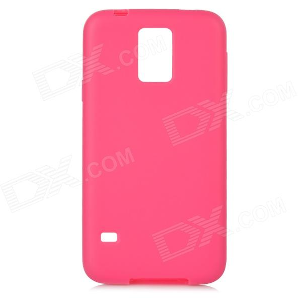 все цены на A-S5 Protective TPU Back Case for Samsung Galaxy S5 - Deep Pink онлайн