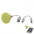 SP-01 Stereo Compact Speaker w/ 3.5mm Plug for IPHONE / IPOD - Green