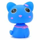 Head Shaking Cute Cat Style Toy for Car Decoration -  Blue