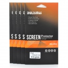 DULISIMAI Protective Matte PET Screen Protectors for Samsung Galaxy S5 - Transparent (5 PCS)