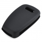 GEL14031610 Silicone Car Key Case for Audi A1 / A3 / Q3 / Q7 / R8 / A6L / TT - Black