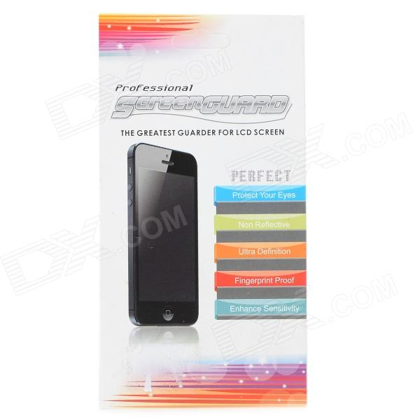 Protective Clear PET Screen Protector w/ Cleaning Cloth for Nokia X+ - Transparent
