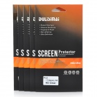 DULISIMAI Protective Clear PET Screen Protectors for Samsung Galaxy S5 - Transparent (5 PCS)