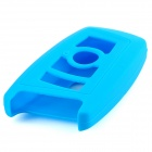 GEL14031608 silicona Car Key Case para el BMW X1 / X3 / X5 / X6 / 3/5/7 Series - Blue Light