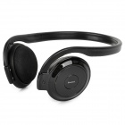 BH-503 Bluetooth V2.0 Neckband Stereo Headphone w/ Microphone - Black