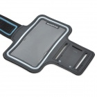 Protective Neoprene + PVC Armband w/ Velcro for HTC One 2 / M8 - Black