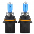 9007 12V 100 / 80W 6000K 1650LM White Light Halogen Lamp for Car - Blue + Silver + Black (2 PCS)