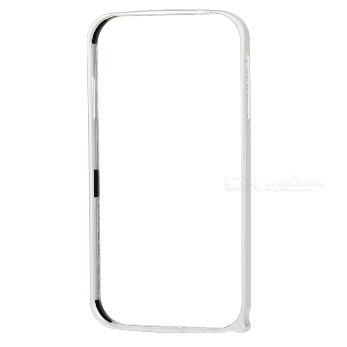 S3-AU Protective Aluminum Alloy Bumper Frame for Samsung Galaxy S4 i9500 - Silver stylish aluminum alloy protective bumper frame set for iphone 4 4s black red