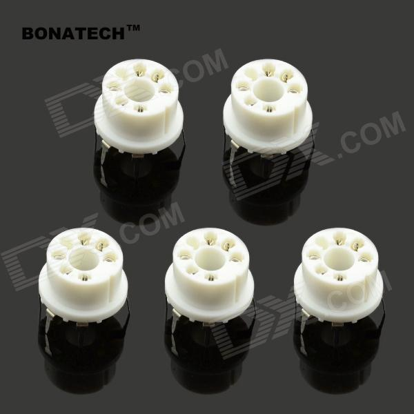 BONATECH connettore a gas a 6 pin MQ Series - bianco (5 PCS)