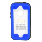 SK-109 Waterproof Protective PC + PVC + Silicone Case for IPHONE 5 / 5C / 5S - Blue + Black