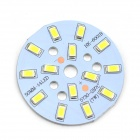 MaiTech 7W 705lm 14-SMD 5730 LED Cool White Light Bulb Aluminum Plate