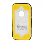 SK-109 Protective Waterproof PC + PVC + Silicone Case for IPHONE 5 / 5S / 5C - Black + Yellow