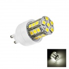 G9 3W 220lm 6500K 27-SMD 5050 LED White Light Lamp Bulb - White (AC 110~120V)