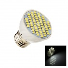 E27 4W 260lm 6500K 60-SMD 3528 LED White Energy Saving Light Bulb - White (AC12V)
