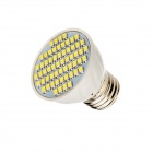 E27 4W 260lm 6500K 60-SMD 3528 LED ampoule blanche froide-Blanc