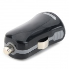 5V 1A mini USB Car Charger accendisigari - nero (12 ~ 24V)
