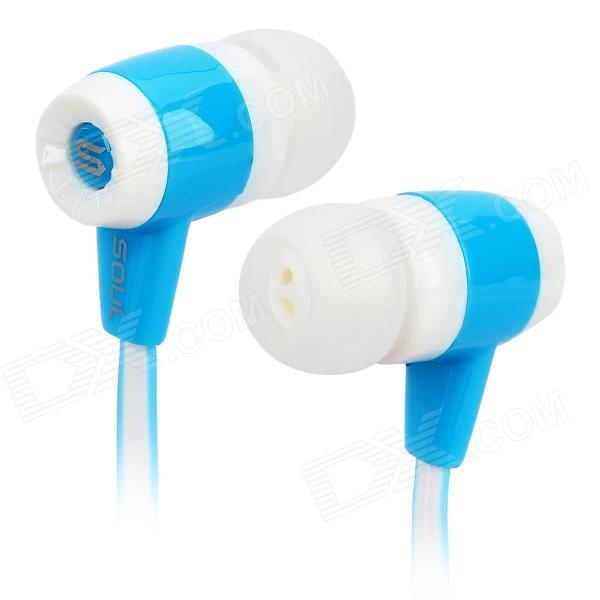 Soul Stereo In-Ear Earphone - White + Blue
