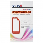 YI-YI Water Resistant Dust-Proof PET Clear Screen Guard Protectors for Motorola MOTO G (3 PCS)