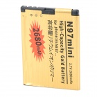 N97mini-GD 3.7V 1400mAh Li-ion Battery for Nokia / N97Mini / E7 / E5-00 / E7-00 / N8 + More - Golden