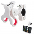 SPO-10 Outdoor Cycling 360 Degree Rotary Bike Cellphone Holder - White