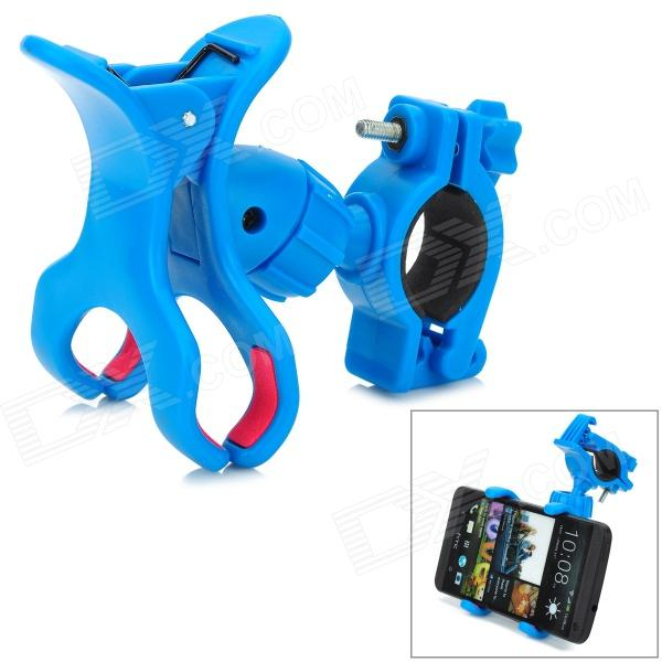 SPO-10 Outdoor Cycling 360 Degree Rotary Bike Cellphone Holder - Blue