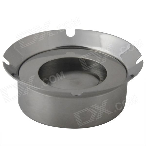 Windproof Stainless Steel Ashtray - Sliver ashtray